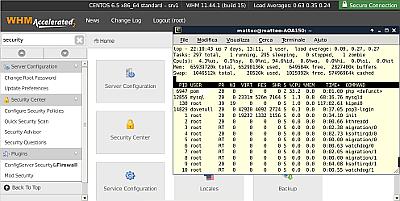 Setup server linux server con WHM/cPanel web agency