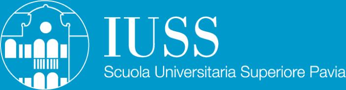 IUSS Scuola Universitaria superiore Pavia